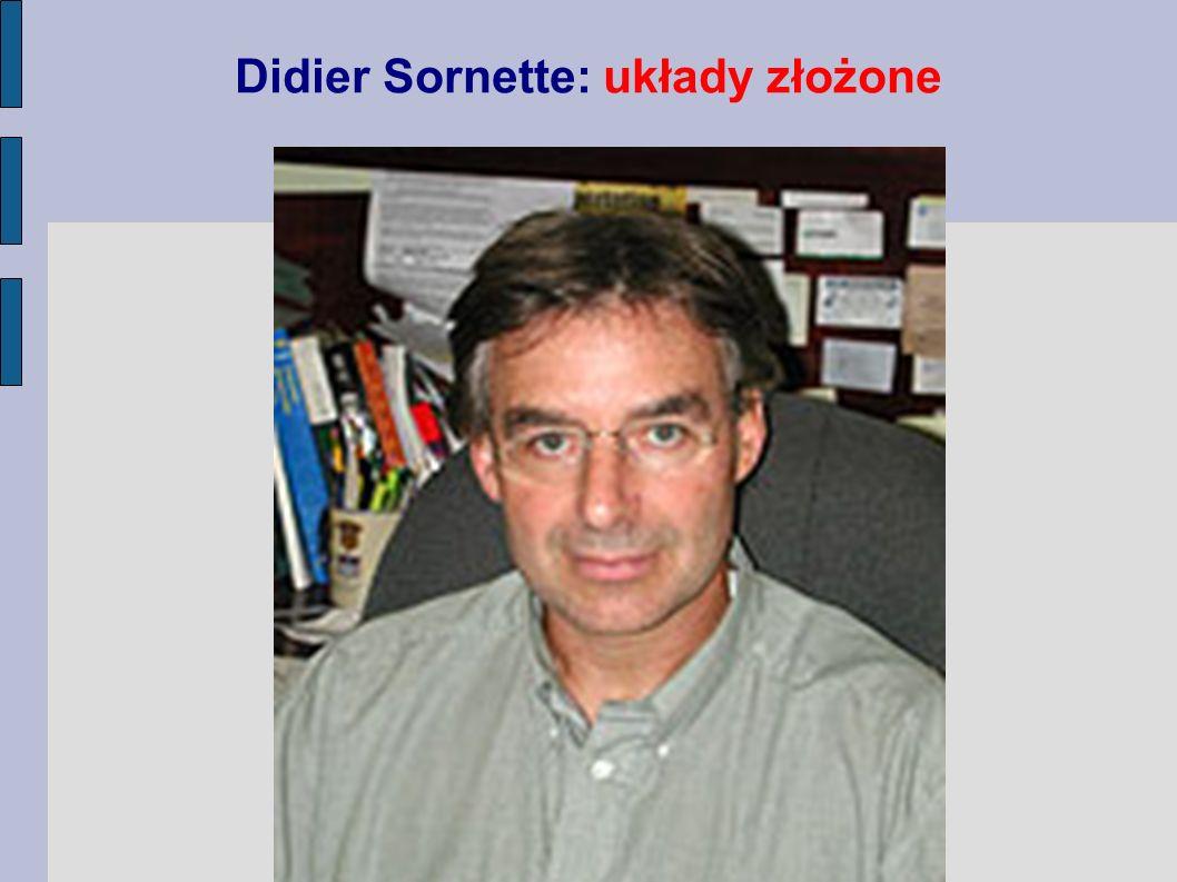 Didier Sornette: układy złożone