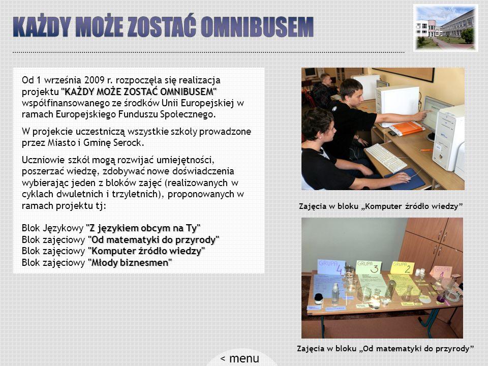 A tak wyglądają różne formy aktywności uczniów Prace origami na festynie W pracowni komputerowej...Zajęcia na nowoczesnym boisku szkolnym Koło teatralneKolejna sztuka teatralnaNa promie – wycieczka do Szwecji < menu