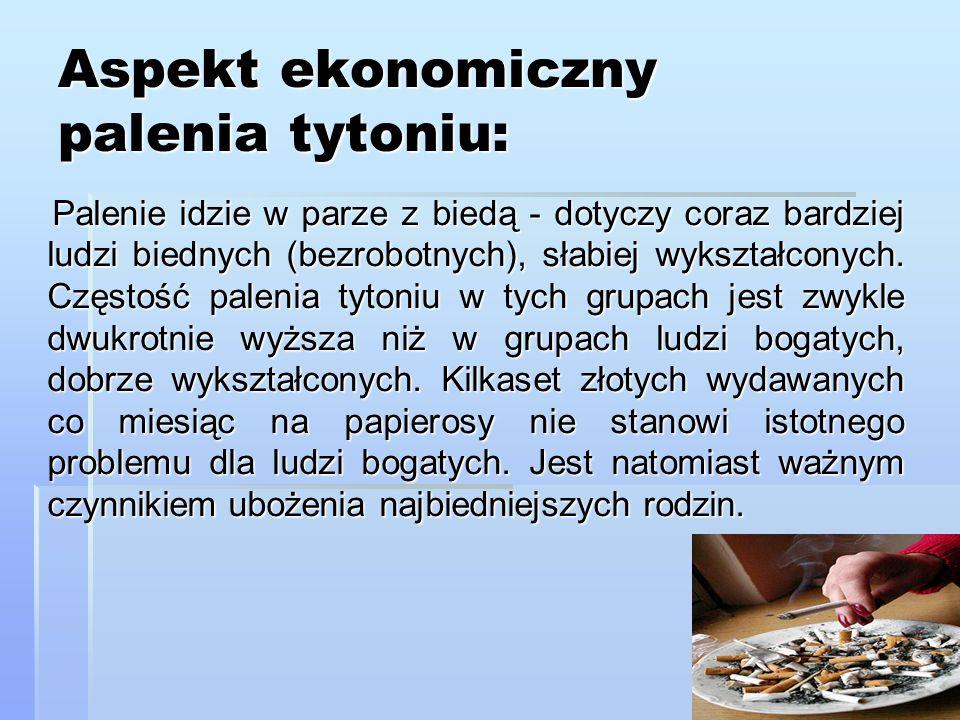 Aspekt prawny palenia tytoniu: Ustawa z 9 listopada 1995 r.