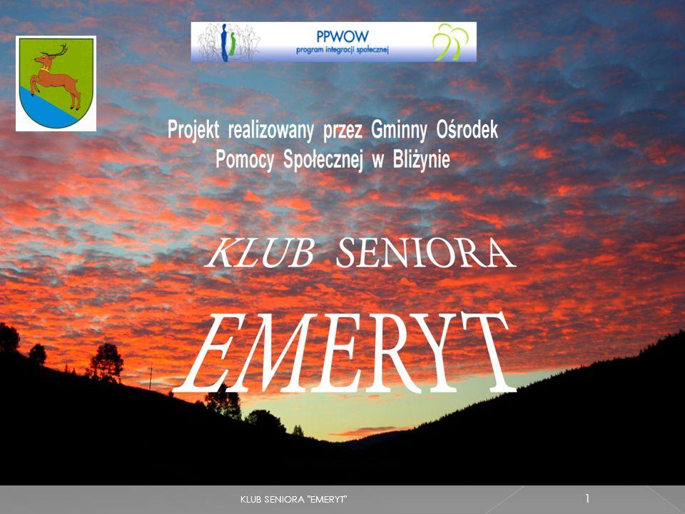 KLUB SENIORA EMERYT 22