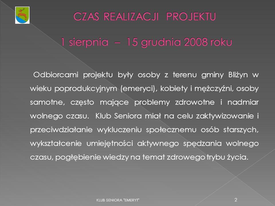 KLUB SENIORA EMERYT 23