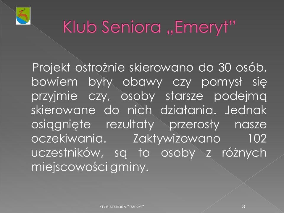 KLUB SENIORA EMERYT 14