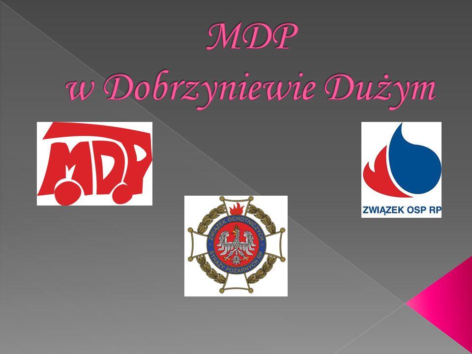 Uroczyste ślubowanie członków MDP Pasowanie na członków MDP z-ca kom.