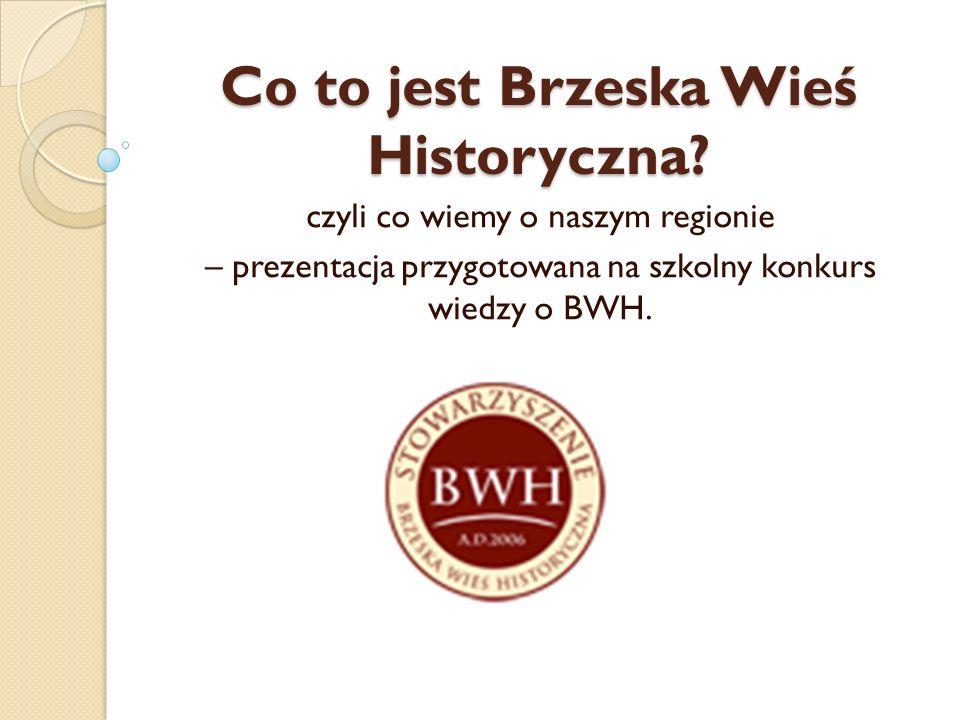Kiedy i dlaczego powstała BWH.