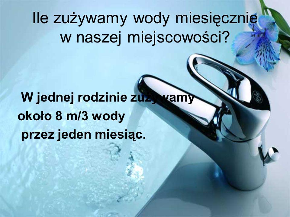 Sposoby ochrony wody Zakręcanie kranu podczas mycia zębów Kąpanie się pod prysznicem Stosowanie obiegu zamkniętego wody Ponowne użycie wody np.