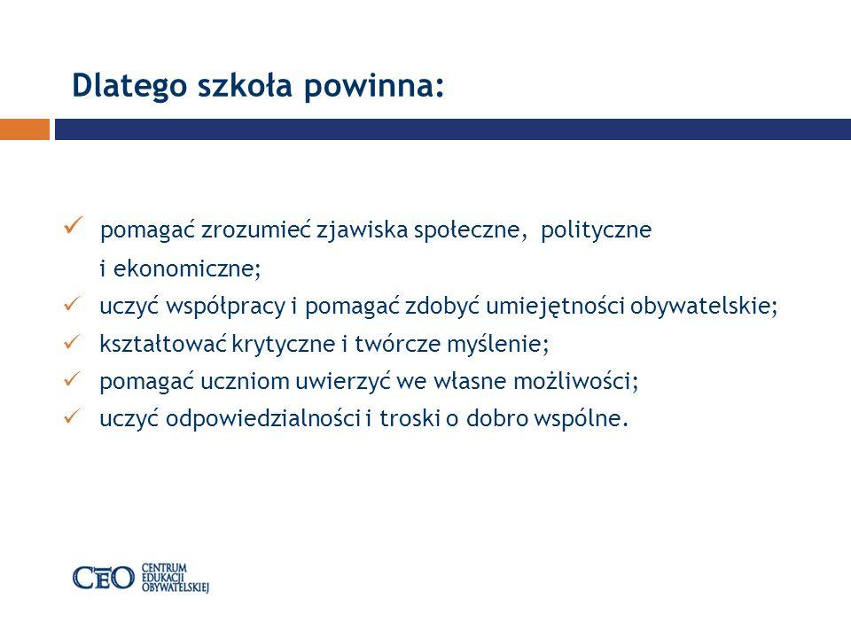 Filmoteka Szkolna Centrum Edukacji Obywatelskiej wspólnie z Polski m Instytutem Sztuki Filmowej przygotowało działania pod hasłem: Filmoteka Szkolna.