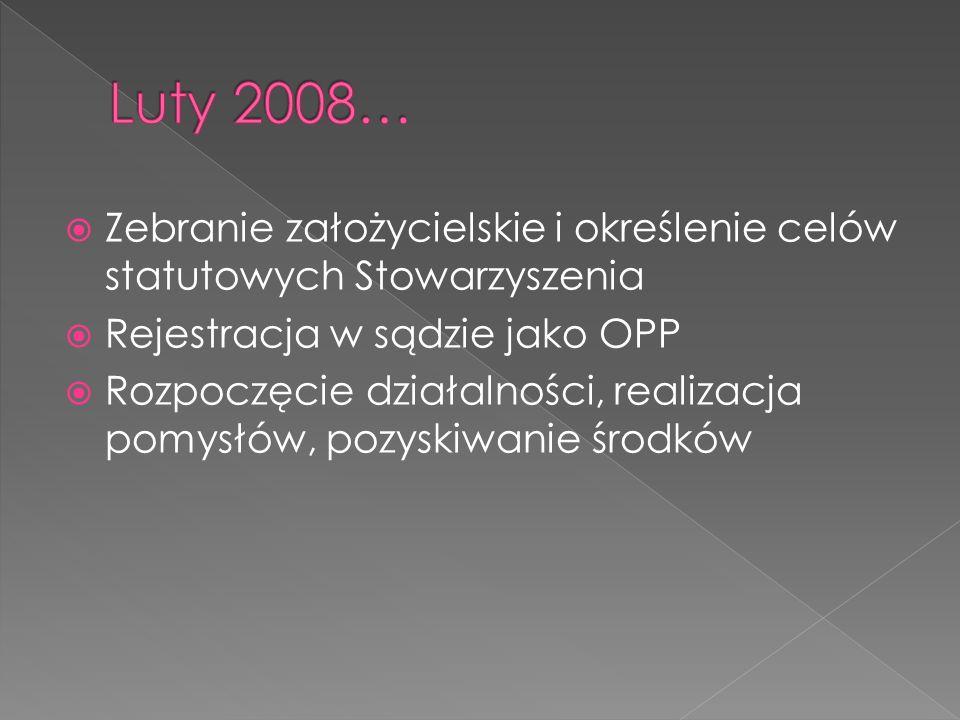 2009- pozyskanie z MPPL 30 tys.zł.