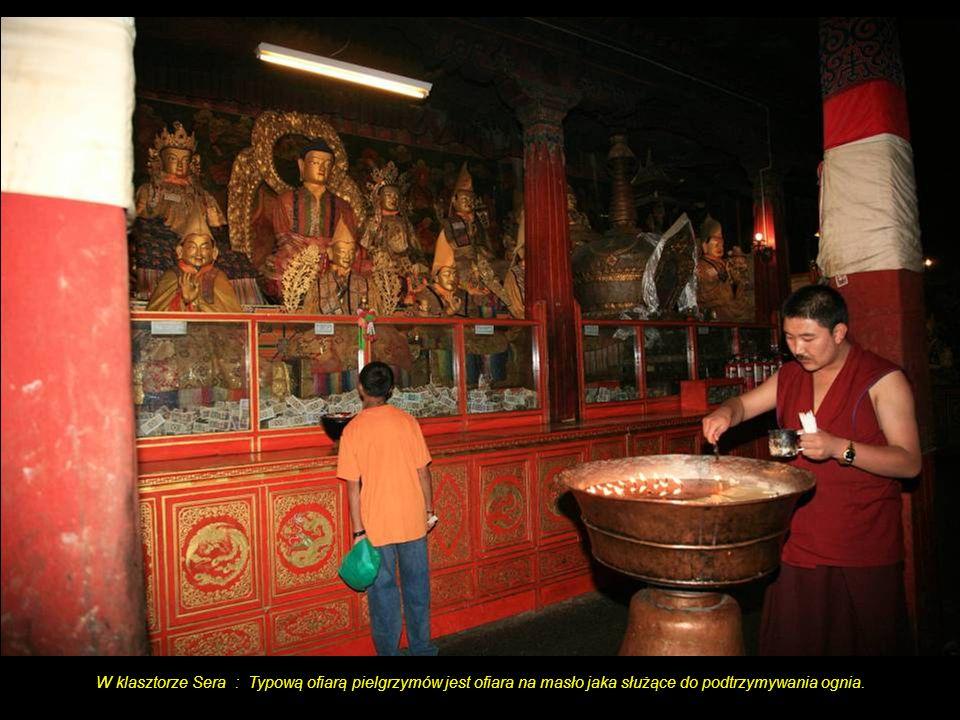 Skrzydło klasztoru Sera.