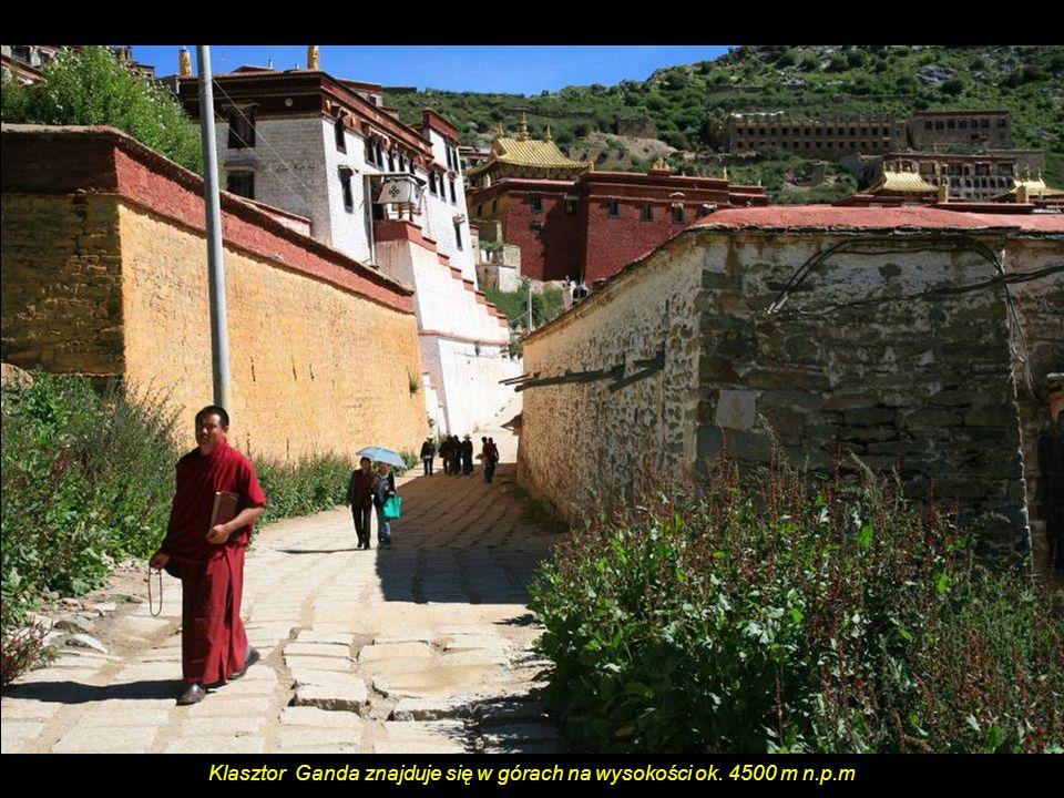 Tybetańscy pielgrzymi idą pieszo do 900 km ze swojej wioski do Lhasy.