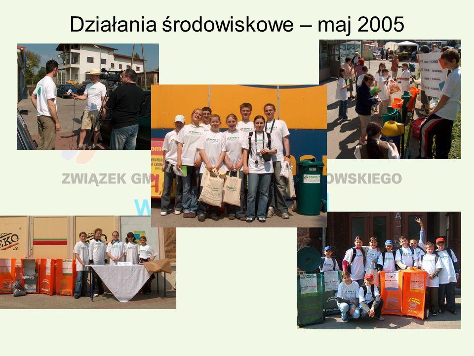 Działania środowiskowe – maj 2005