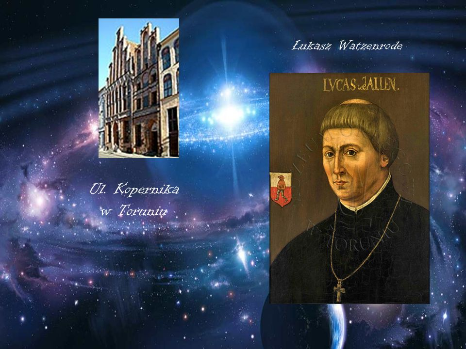 Ul. Kopernika w Toruniu Łukasz Watzenrode