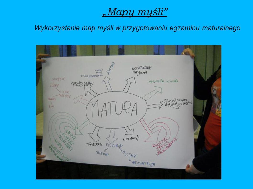 Mapy myśli Wykorzystanie map myśli w przygotowaniu egzaminu maturalnego