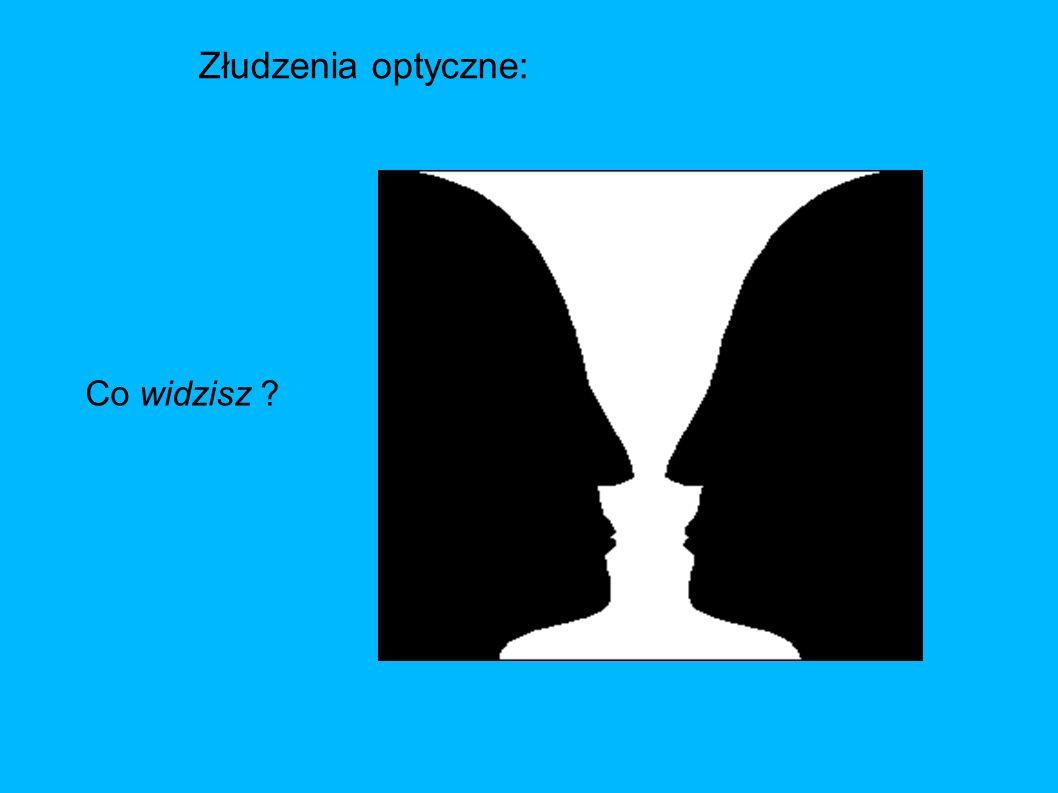Złudzenia optyczne: Co widzisz