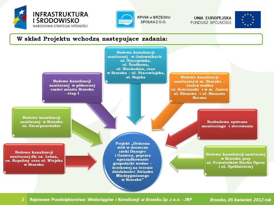 Ostatecznego odbioru inwestycji dokonano 30 marca 2012 roku 449 817,97 zł netto Przedsiębiorstwo Wielobranżowe Eltar Spółka z o.o.