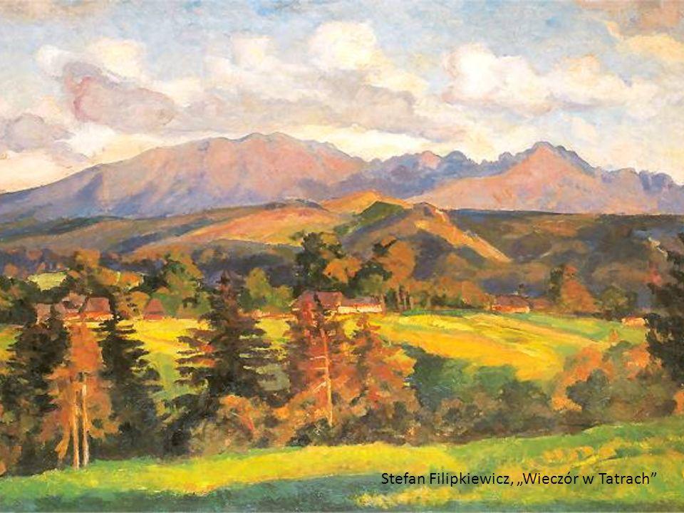 Stefan Filipkiewicz, Wieczór w Tatrach