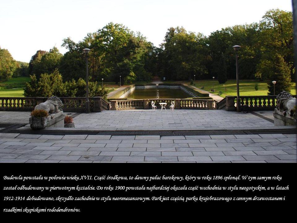 Zabytkowa rezydencja położona we wsi Moszna, w województwie opolskim. Jest jednym z najbardziej znanych obiektów zabytkowych na ziemi opolskiej. Od 18