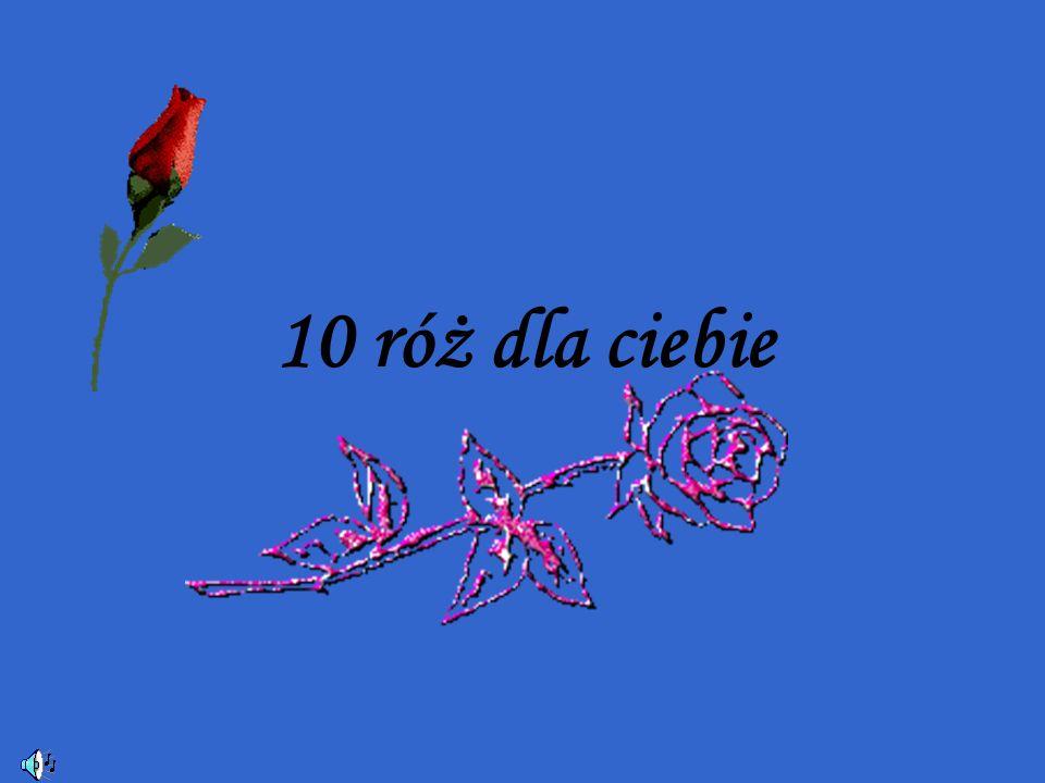 10 róż dla ciebie