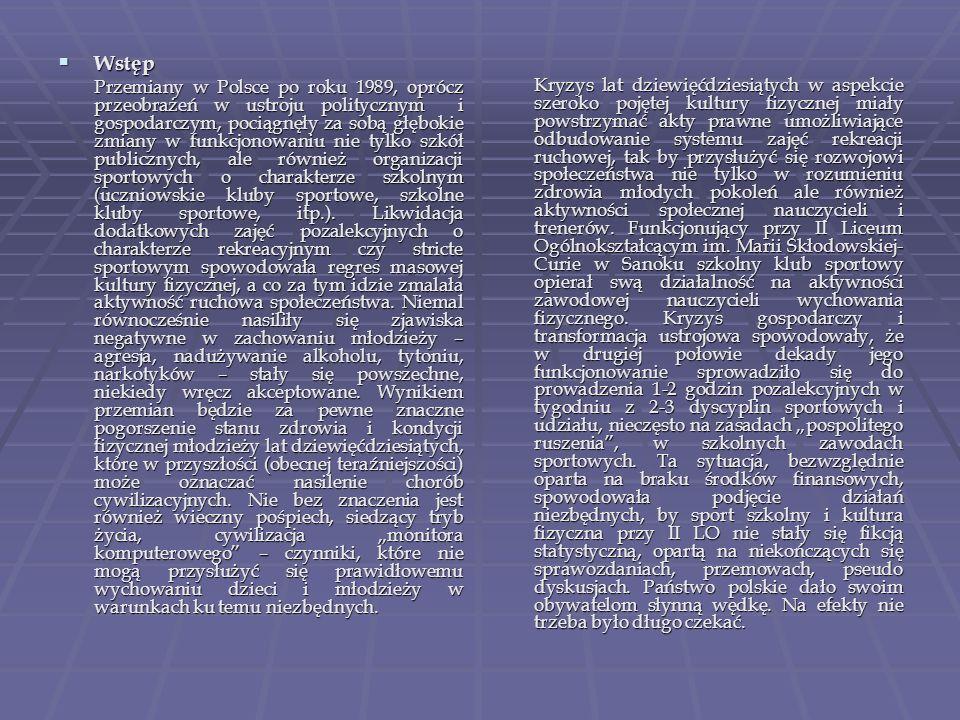 Aspekty prawne funkcjonowania stowarzyszeń kultury fizycznej w Polsce.