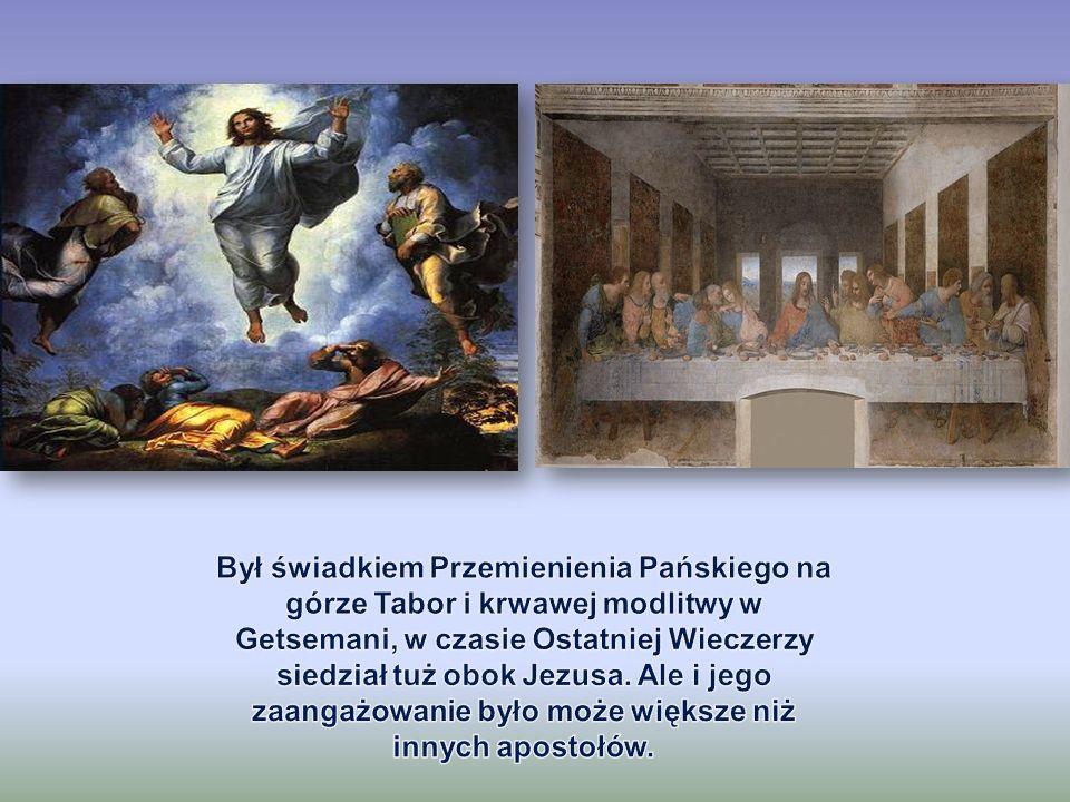 Tradycja głosi, że Piotr zginął w Rzymie na Wzgórzu Watykańsim.
