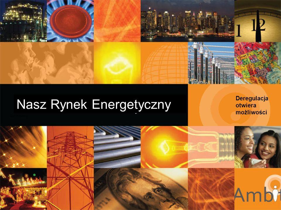 Nadchodzą zmiany DEREGULACJA DOSTAW ENERGII Monopol na dostawę energii został złamany Inne stany uruchamiają proces deregulacji Właściwy czas na działanie Klienci mają prawo wyboru