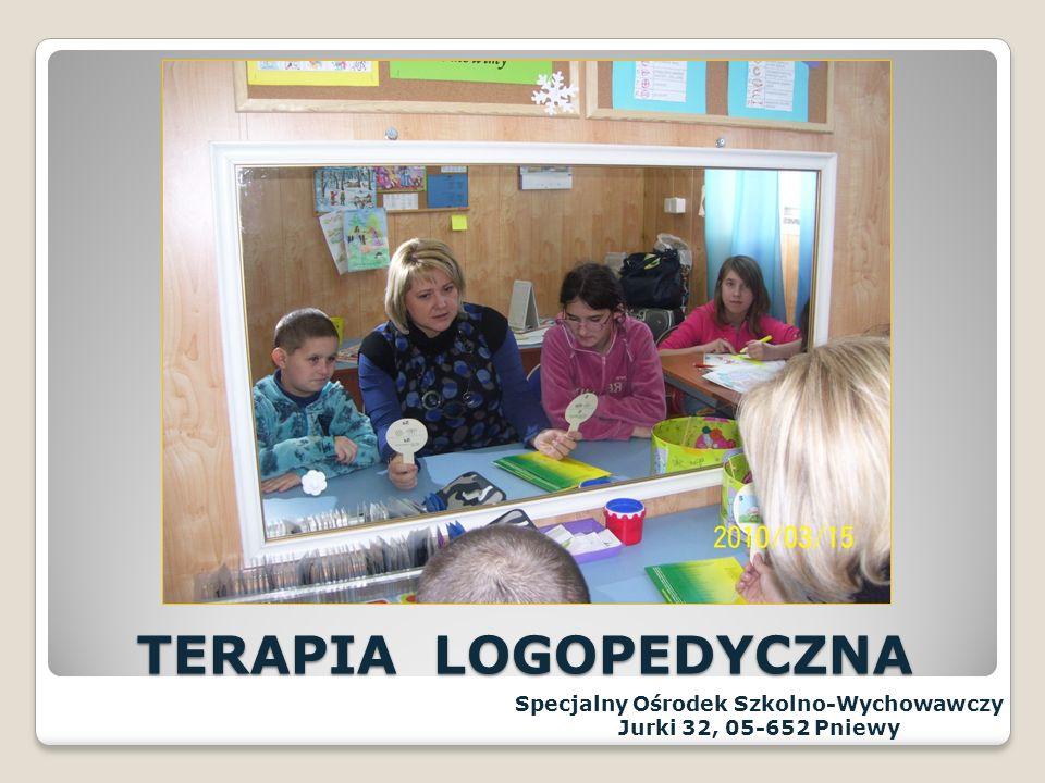 TERAPIA PSYCHOLOGICZNA Specjalny Ośrodek Szkolno-Wychowawczy Jurki 32, 05-652 Pniewy