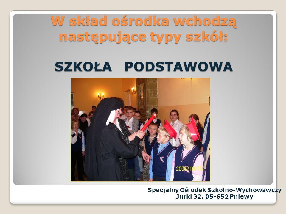 Specjalny Ośrodek Szkolno-Wychowawczy im.Matki Wincenty Jadwigi Jaroszewskiej Tutaj jeste ś my