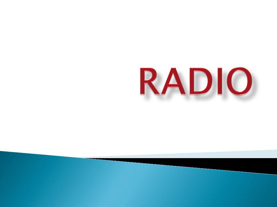 To środek masowego przekazu, adresowany do nieograniczonego kręgu słuchaczy odbieranego przez odbiorniki radiowe.