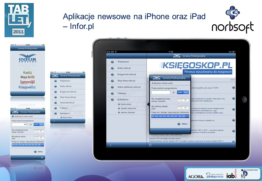 Aplikacje newsowe na Android OS – WP, Środy z Orange