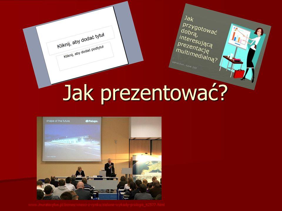 Jak prezentować? www.muratorplus.pl/biznes/wiesci-z-rynku/zielone-wykady-prologis_62577.html