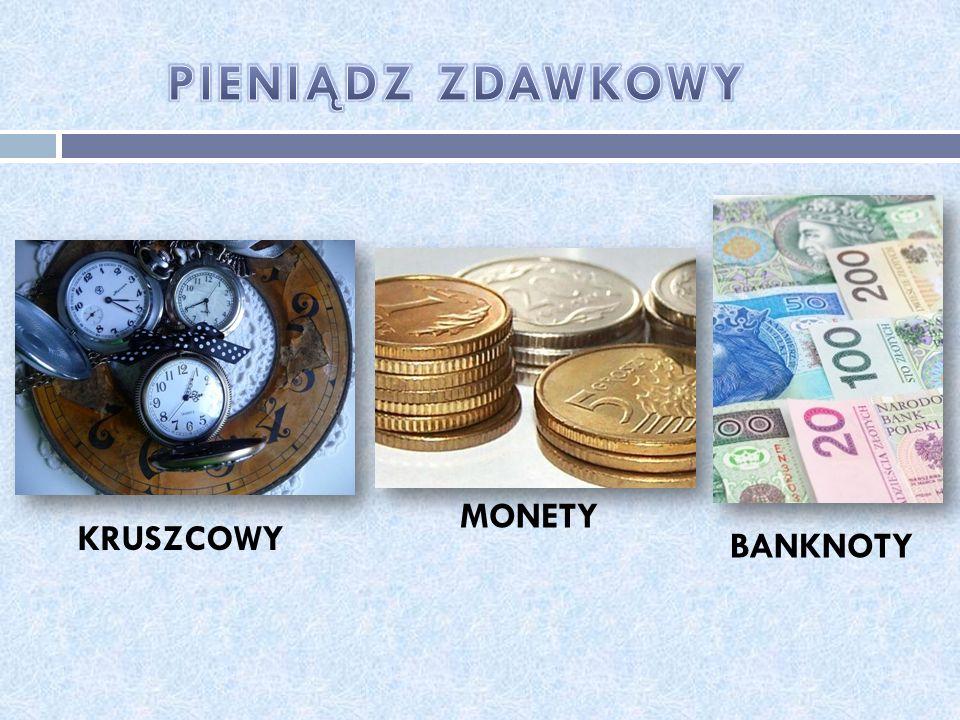 KRUSZCOWY MONETY BANKNOTY