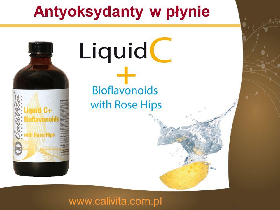 Antyoksydanty w płynie www.calivita.com.pl