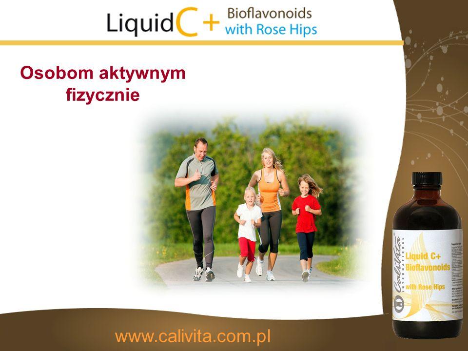 Osobom aktywnym fizycznie www.calivita.com.pl