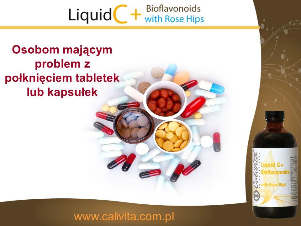 www.calivita.com.pl Osobom mającym problem z połknięciem tabletek lub kapsułek