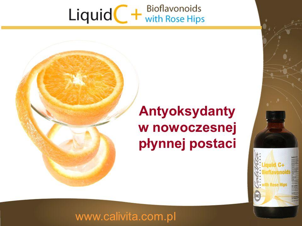 Antyoksydanty w nowoczesnej płynnej postaci www.calivita.com.pl