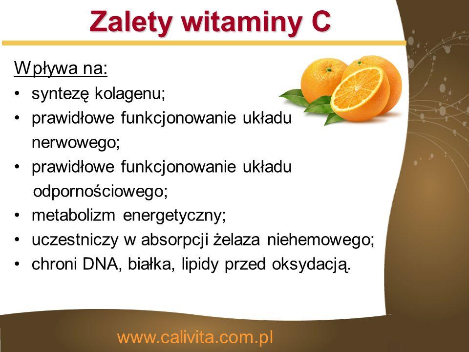 Bioflawonoidy cytrusowe Składniki aktywne www.calivita.com.pl