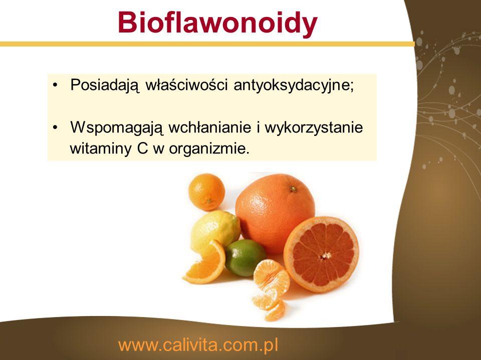Składniki aktywne Ekstrakt z owoców dzikiej róży www.calivita.com.pl