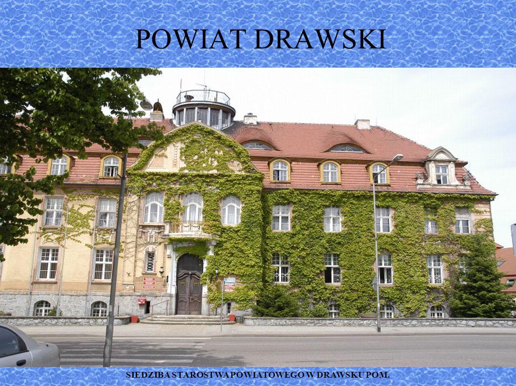 PARK MIEJSKI W DRAWSKU POMORSKIM