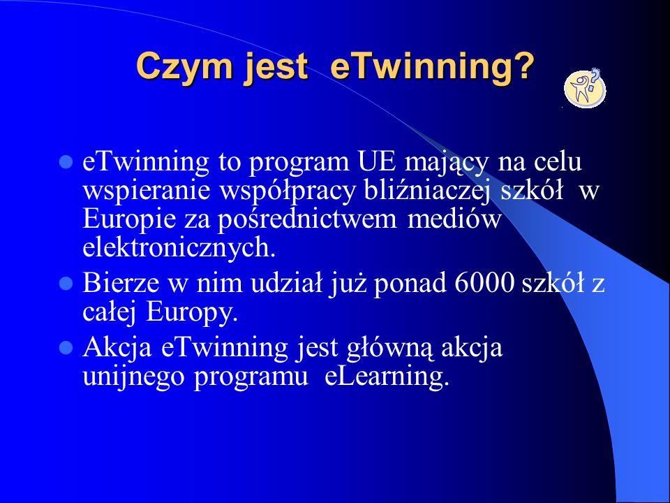 Projekt eTwinning Europejskie partnerstwo szkół Projekt eTwinning Europejskie partnerstwo szkół