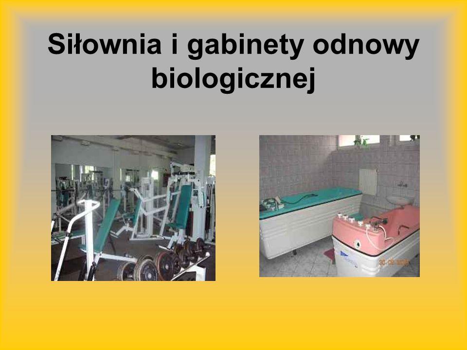 Siłownia i gabinety odnowy biologicznej