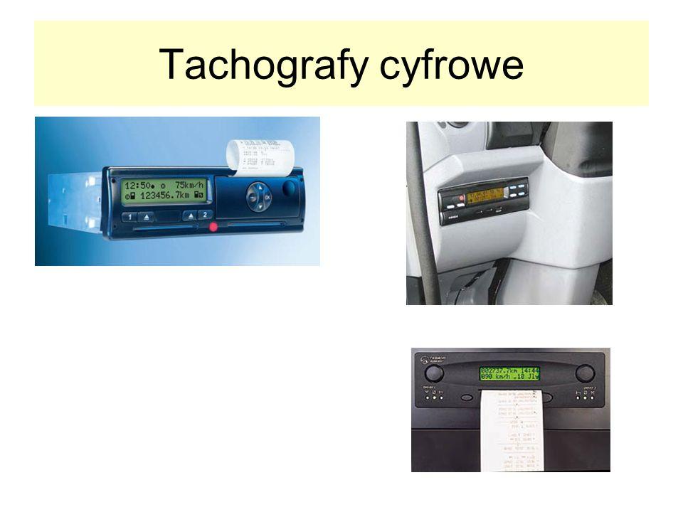 Tachografy cyfrowe