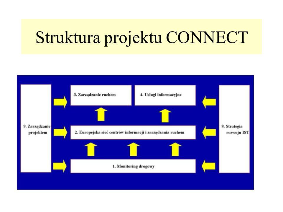 Struktura projektu CONNECT