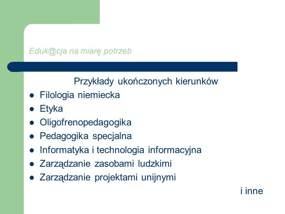 Eduk@cja na miarę potrzeb W ramach projektu odbyło się również we wrześniu 2009 r.