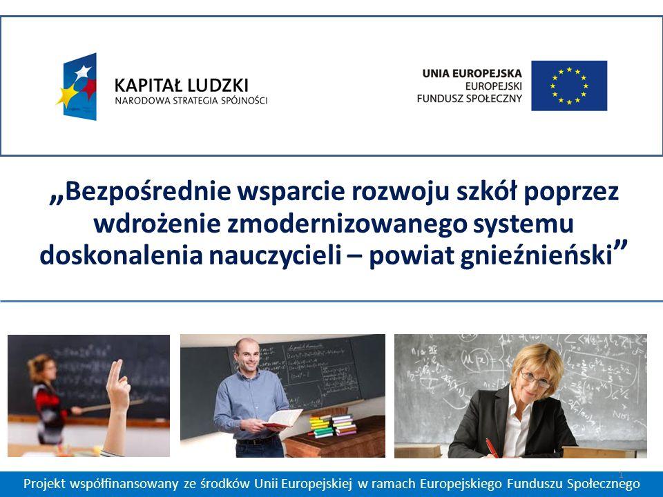 Projekt współfinansowany ze środków Unii Europejskiej w ramach Europejskiego Funduszu Społecznego 1