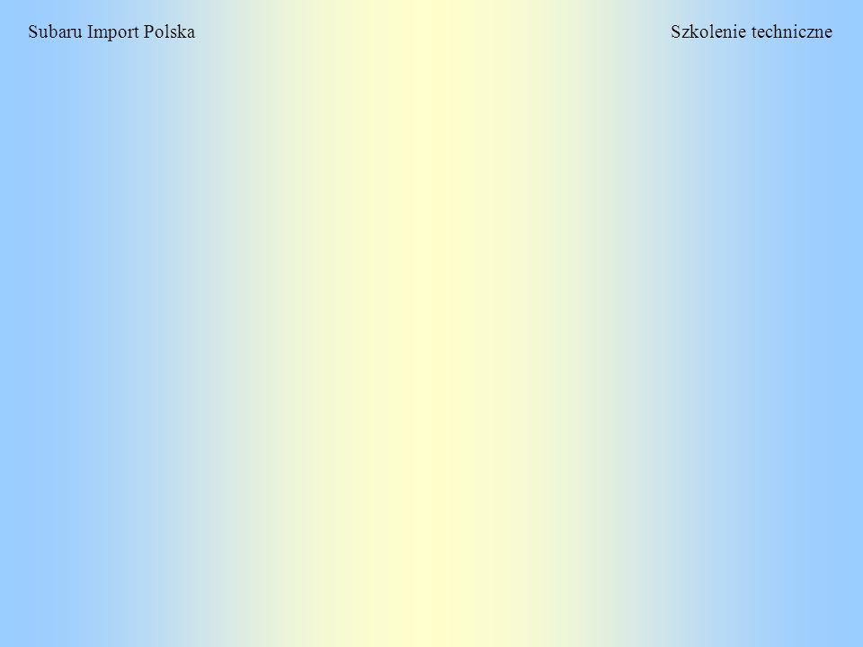 Szkolenie techniczneSubaru Import Polska