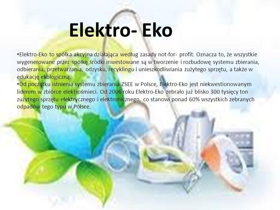 Elektro-Eko to spółka akcyjna działająca według zasady not-for- profit. Oznacza to, że wszystkie wygenerowane przez spółkę środki inwestowane są w two