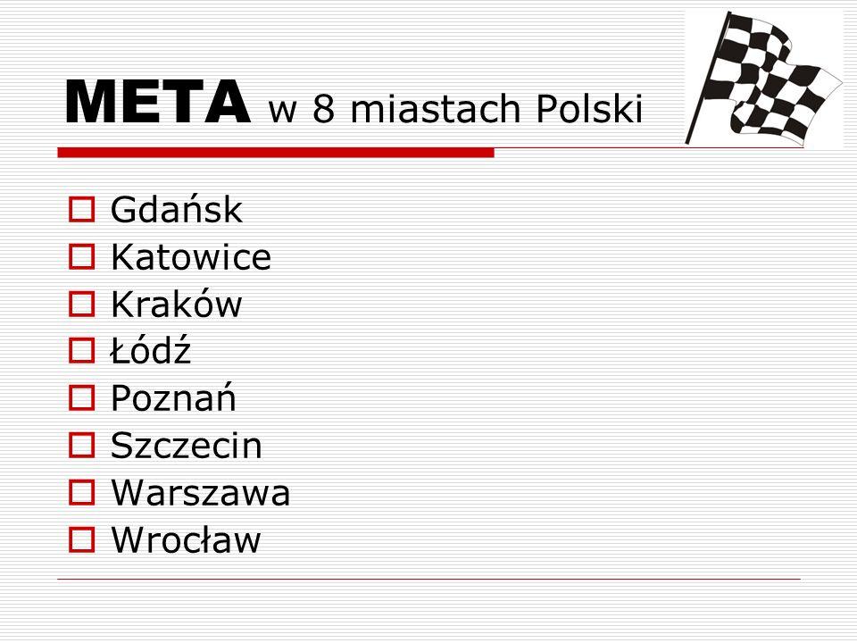 META w 8 miastach Polski Gdańsk Katowice Kraków Łódź Poznań Szczecin Warszawa Wrocław