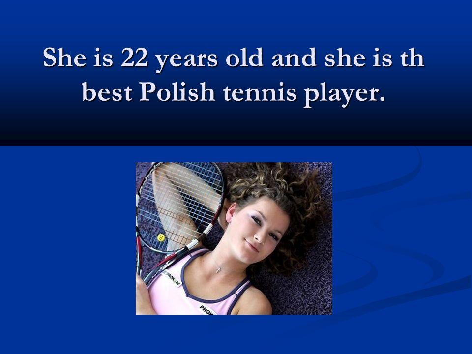 Agnieszka Radwańska was born in Kraków. She began playing tennis at the age of four