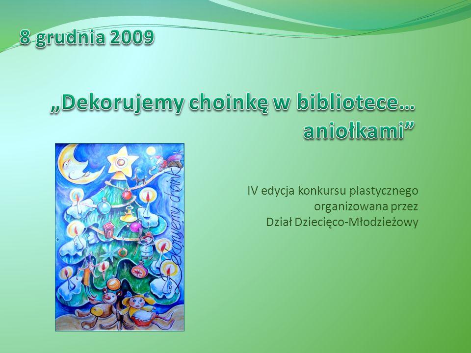 IV edycja konkursu plastycznego organizowana przez Dział Dziecięco-Młodzieżowy
