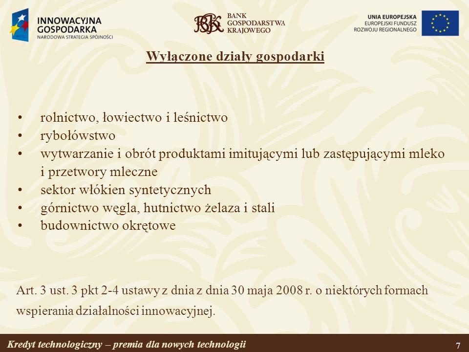Kredyt technologiczny – premia dla nowych technologii 28 Zapraszamy do współpracy www.bgk.com.pl