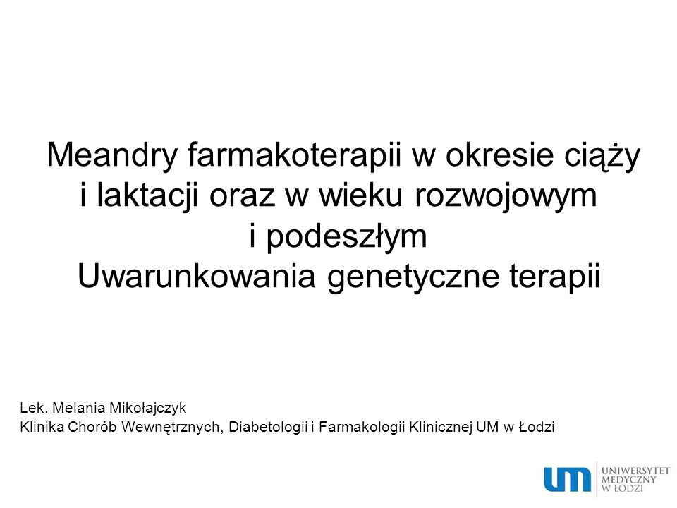 Niedobór transferazy glukuronianowej zmniejszona zdolność do powstawania rozpuszczalnych w wodzie i nieaktywnych biologicznie mono- i diglukuronianów, a w konsekwencji objawy toksyczne po podaniu leków wydalających się tym sposobem: leki przeciwbólowe i przeciwzapalne (paracetamol…) chemioterapeutyki (sulfonamidy…) leki wpływające na OUN (opioidy…) hormony (glikokortykosteroidy…) witaminy (witamina K…) inne (probenecyd…) Leczenie – fenobarbital